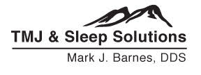 TMJ Sleep Solutions