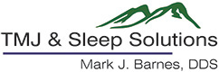 Mark Barnes - TMJ Sleep Solutions Logo