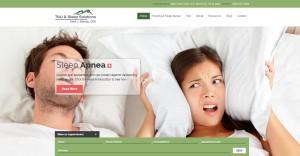 TMJ Sleep Solutions Website