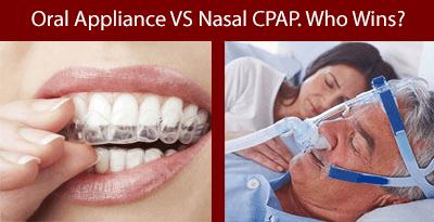 Oral CPap vs nasal cpap